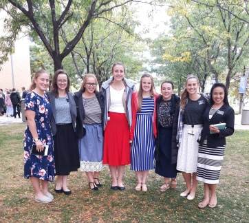 District sisters outside_8Oct2018