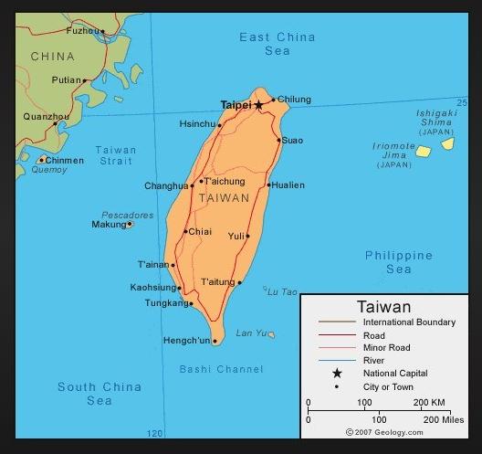 Taiwan_Hsinchu to Taitung